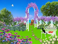 garden-with arch