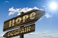 sign - depression - hope vs despair