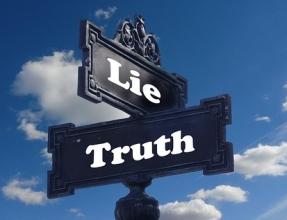 sign lie vs truth