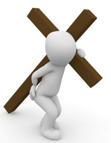 carrying cross1015577_1920