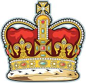 gold-british-crown-vector-id467467627