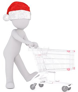 christmas-with shopping trolley1711599__340